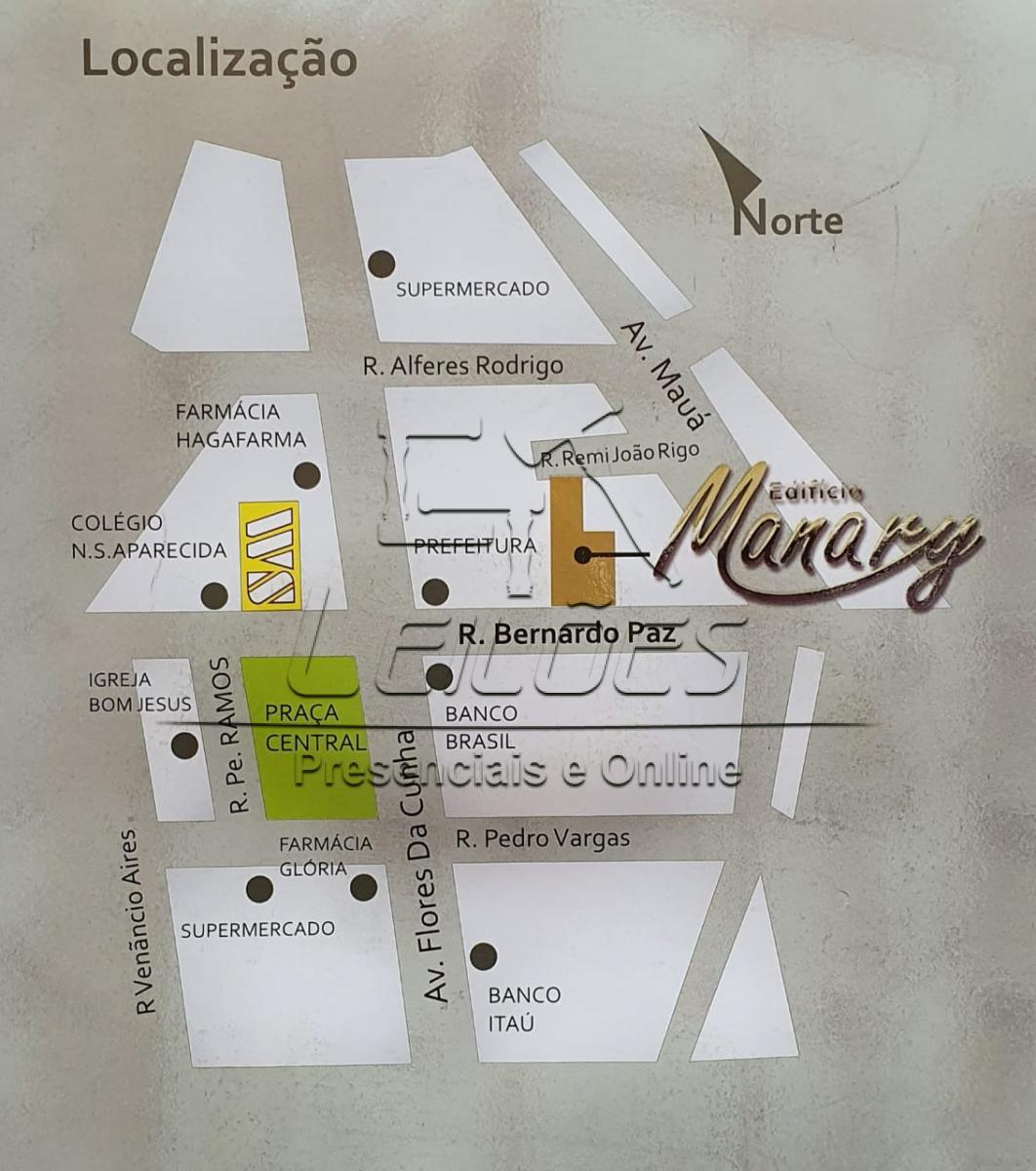 Apartamento 1002 com box de garagem + depósito no Ed. Manary